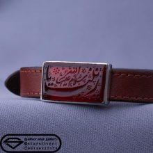 دستبند عقیق خطی-نقش یا زینب