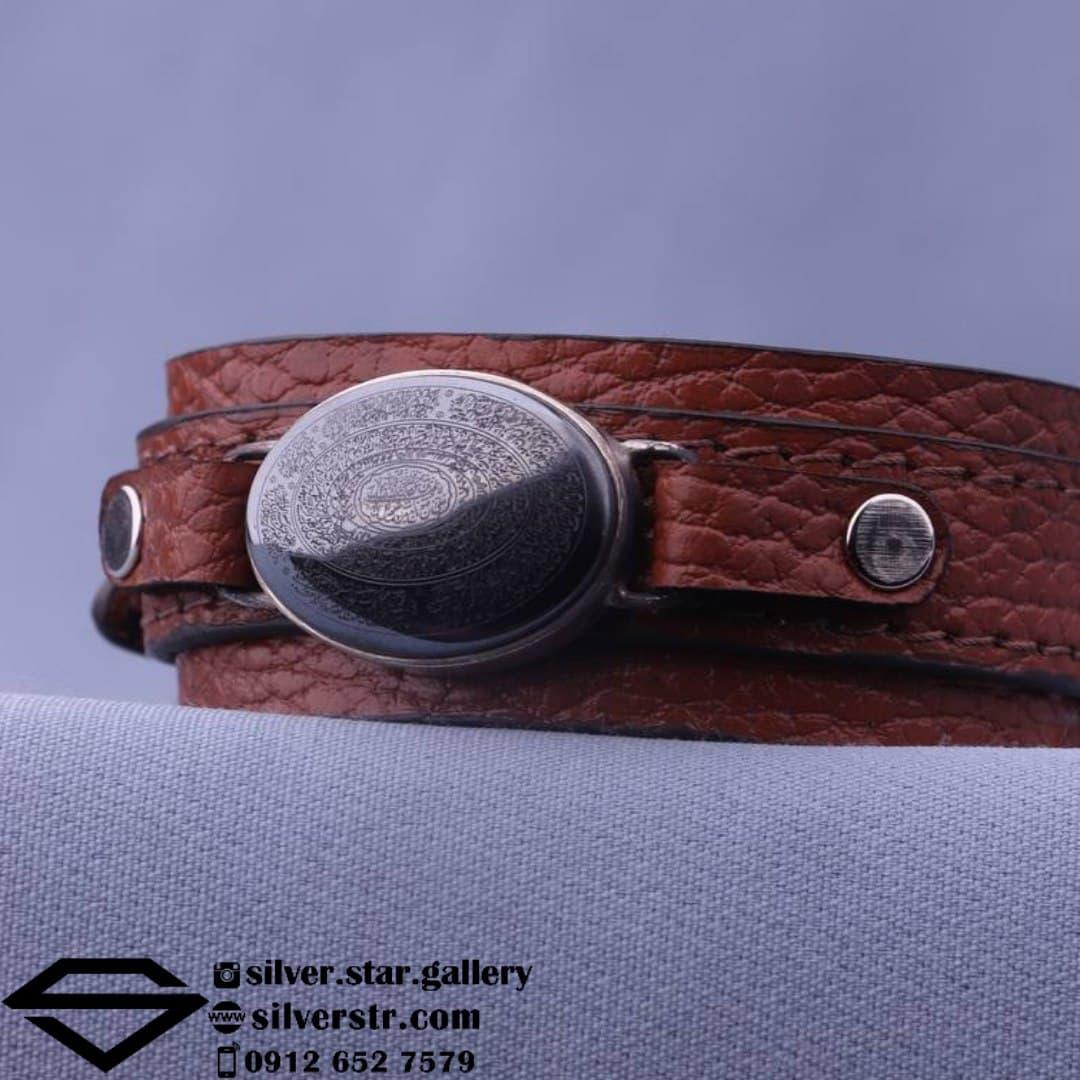 دستبند حدید صینی نقش ۱۶ سوره