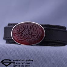 دستبند عقیق سرخ خراسان نقش یا صاحب الزمان