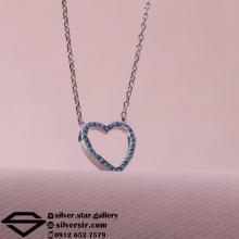 گردنبند طرح جواهری