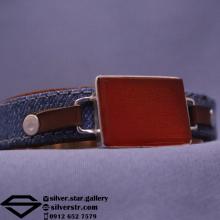 دستبند عقیق سرخ نقش ایت الکرسی
